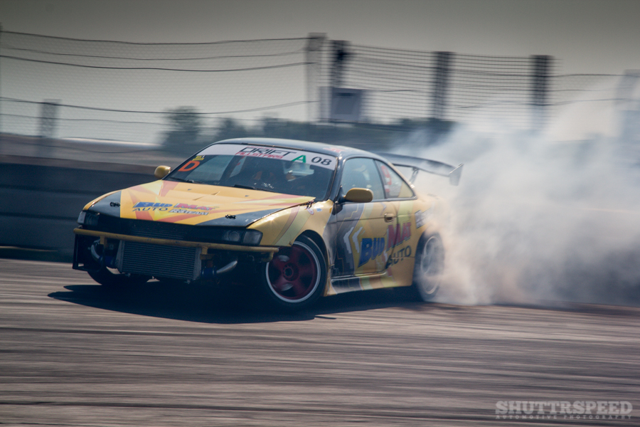 Bud Mat auto making some smoke. | Photo: Tejs Poppe, Shuttrspeed