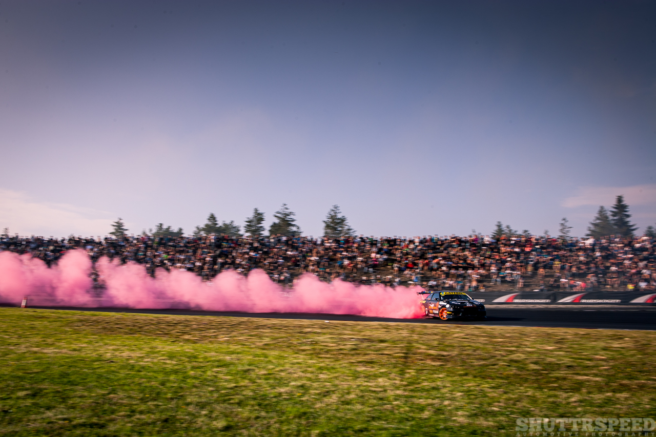 Pony Drift and some pink smoke | Photo: Mads Eneqvist, Shuttrspeed