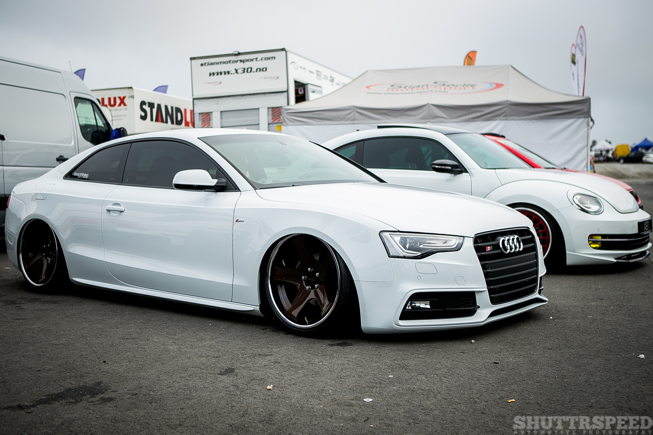 Rotiforms on a cool Audi is always a winner | Photo: Mads Eneqvist, Shuttrspeed